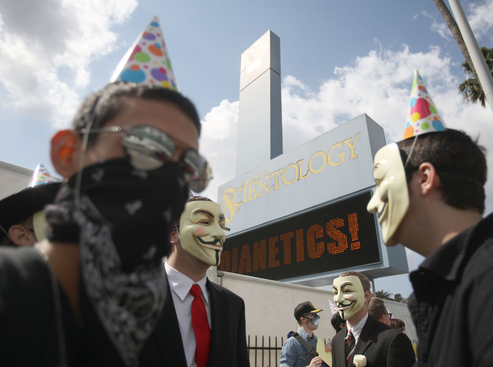 Scientology Protest / Anonymous