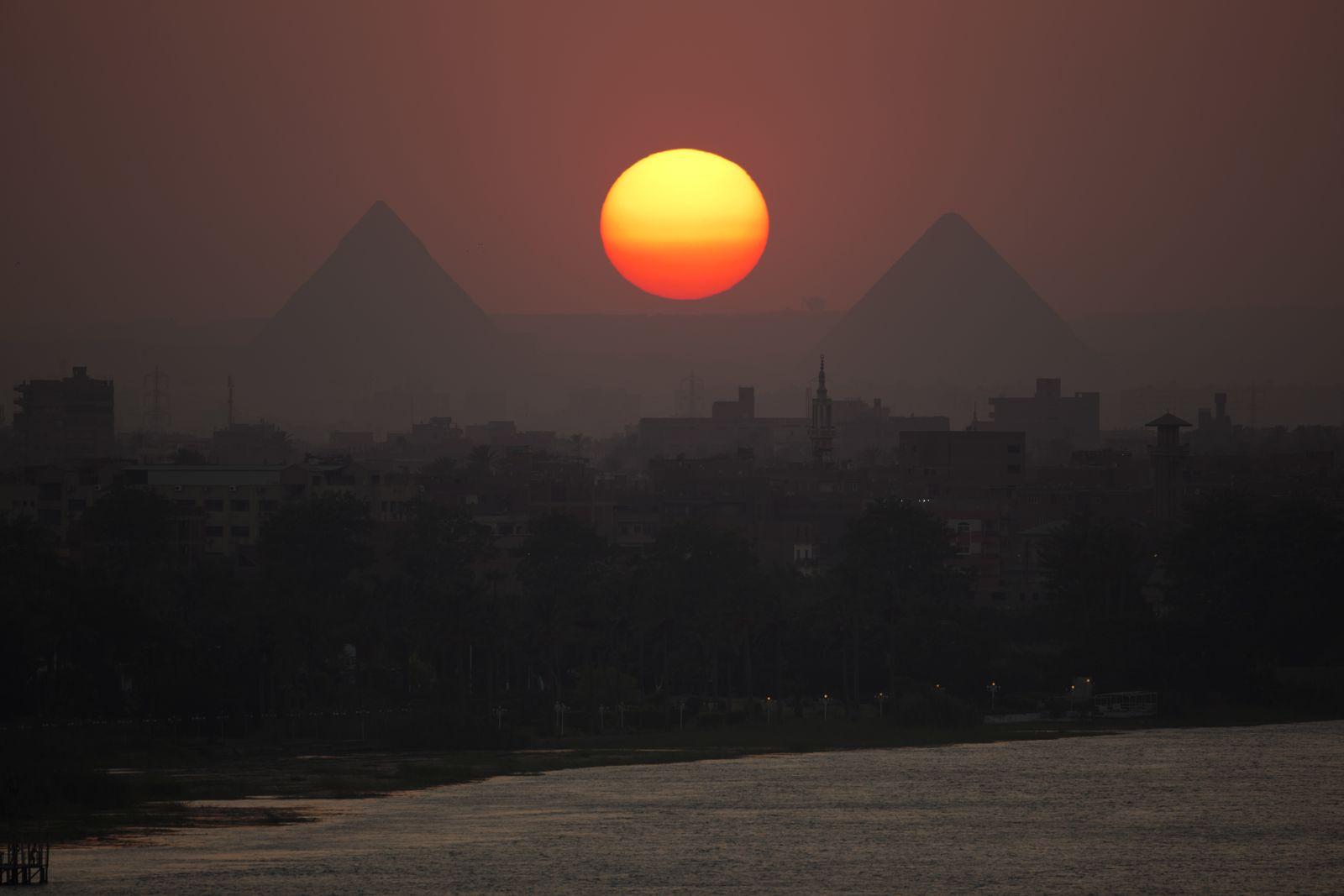 Ägypten / Pyramiden / Nil