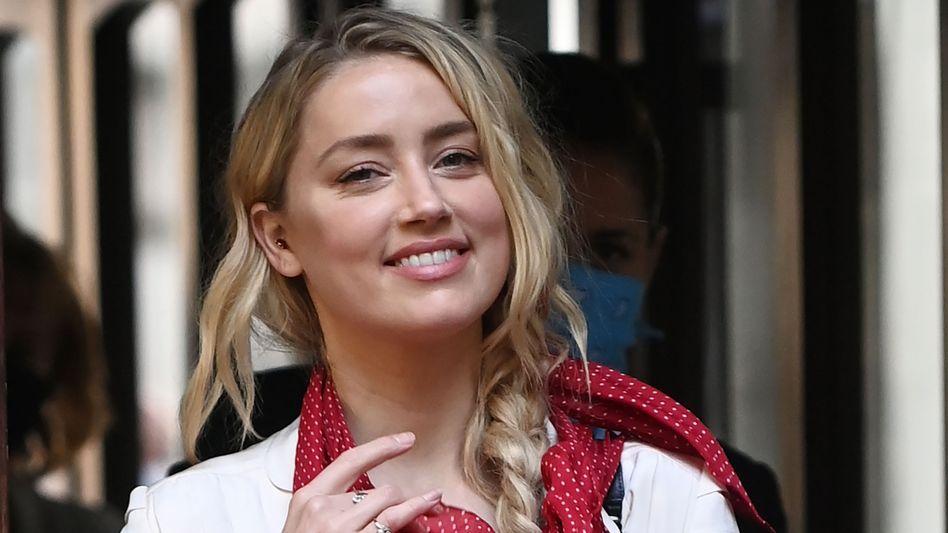 Amber Heard vor dem Gericht