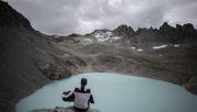 Gletscher in der Schweiz beerdigt