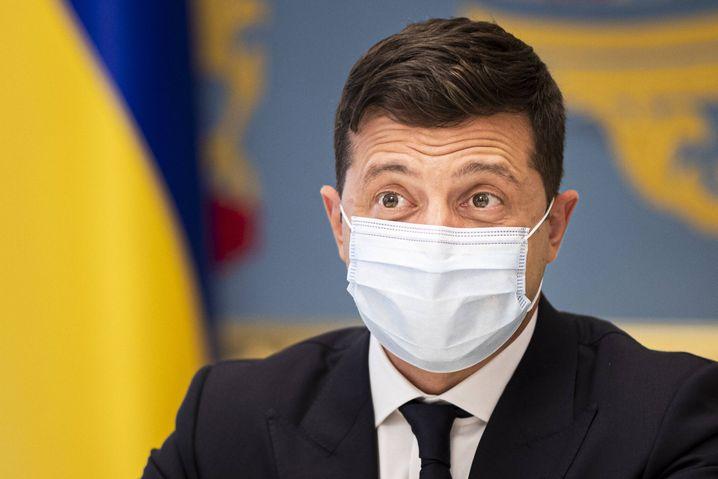 Der ukrainische Präsident Selenskyj: War mal Komiker – und hat nun den ehemaligen KGB-Agenten Putin als Gegner