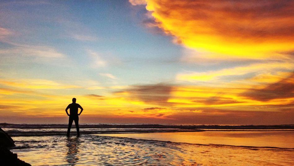Wer über unbegrenzt viele Urlaubstage verfügt, kann mehr Zeit am Meer verbringen - theoretisch