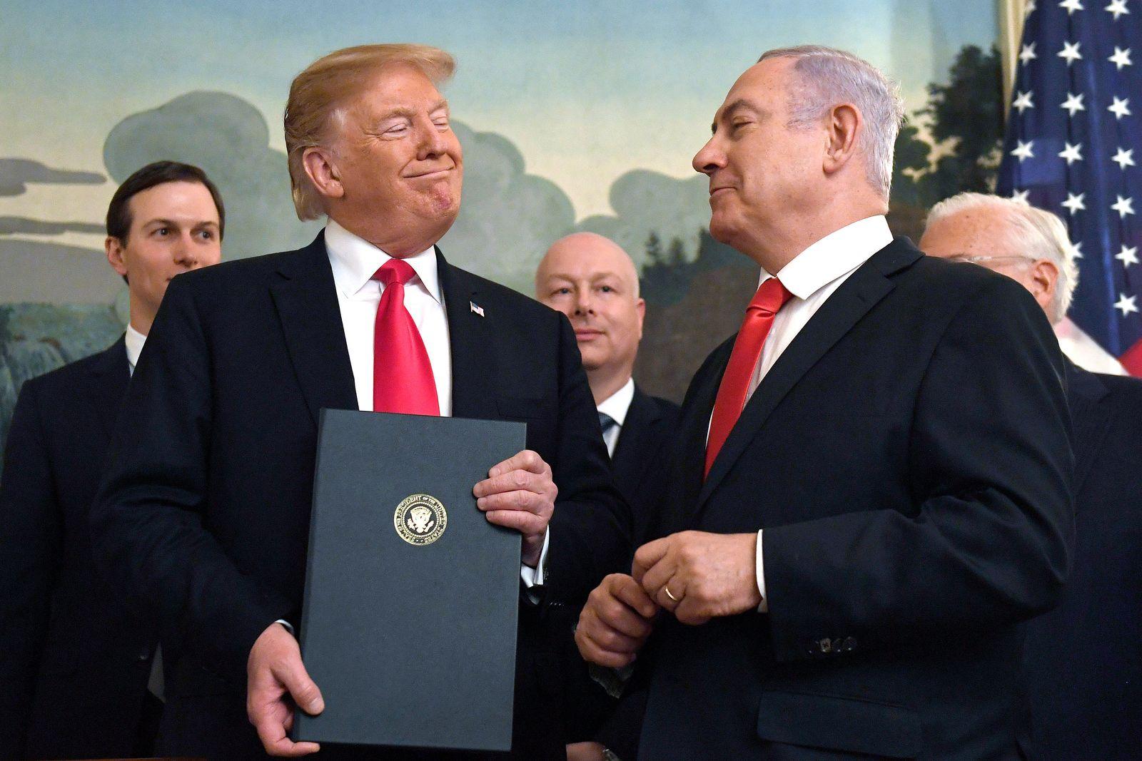 Trumps Nahost-Friedensplan