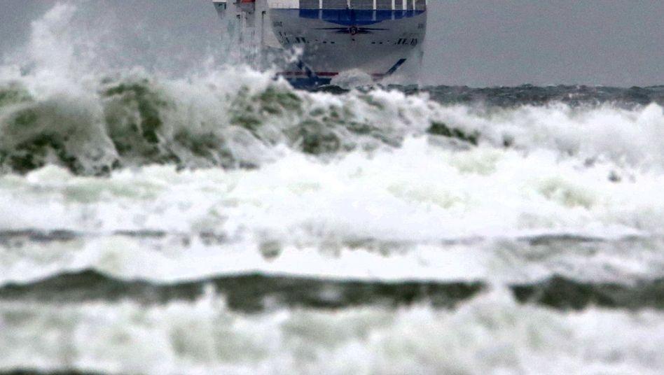 Unruhige See: Etwa neun von zehn Menschen waren schon mal seekrank
