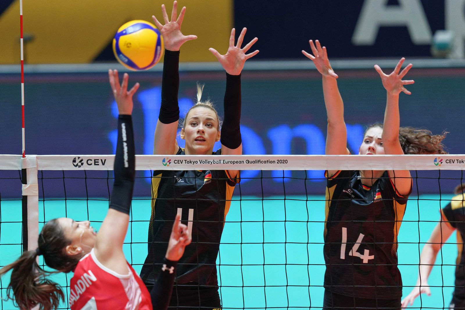 Olympic Qualifier (OKT) Volleyball final Turkey vs Germany, Apeldoorn, Netherlands - 12 Jan 2020