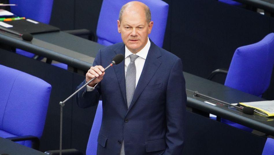 """Olaf Scholz: """"Schönen Dank für den Hinweis"""""""