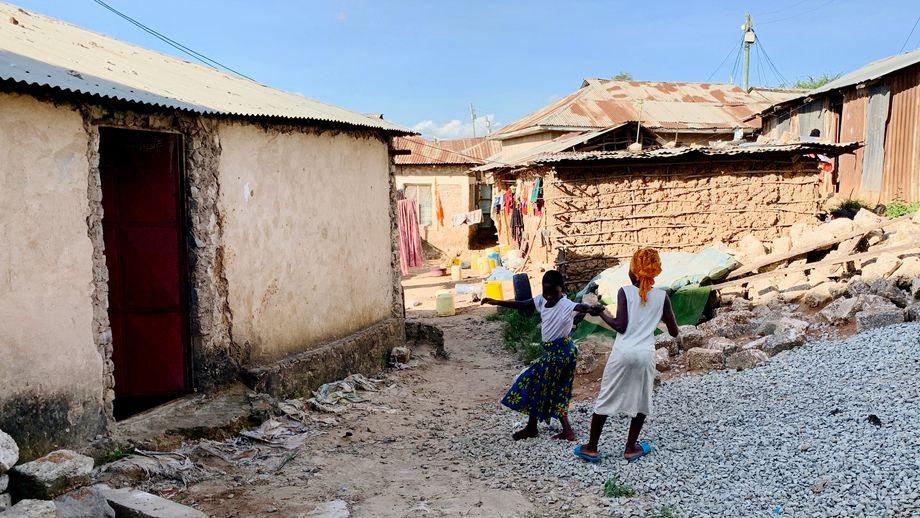 Anhaltende Gefahr für die Einwohner: In Owino Uhuru sind noch immer Boden und Häuser mit Blei verseucht