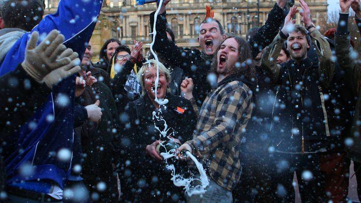 """Thatcher-Party in London: """"Unserem Land so viel Schaden zugefügt"""""""