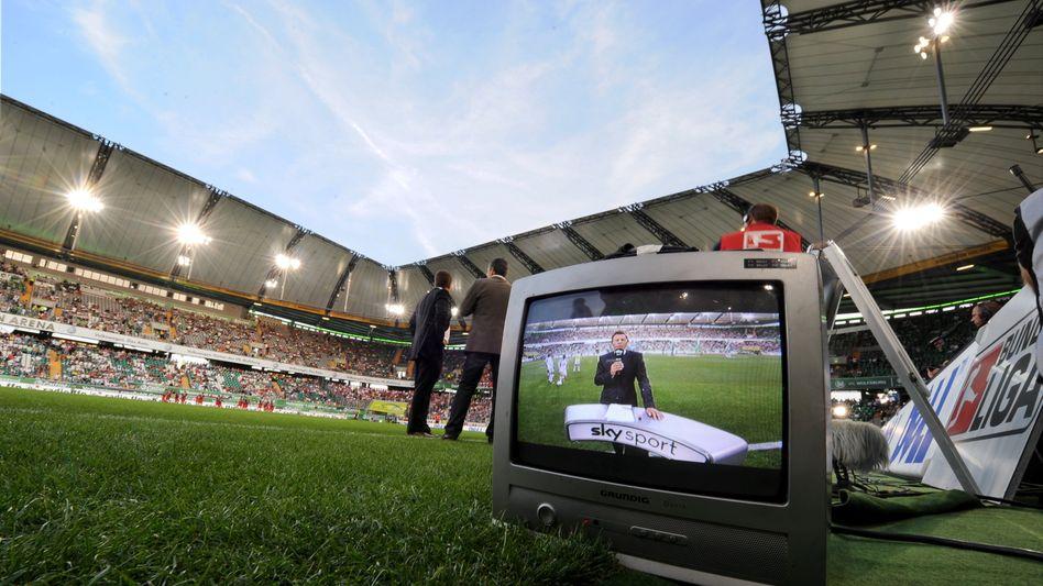 Die Liga im Fernsehen: Zwischen Finnisch und Albanisch