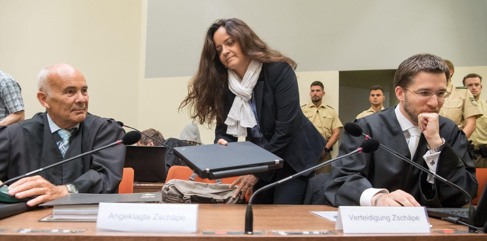 NSU Prozess Zschäpe Borchert