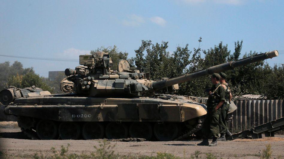 Russisches Militär an der ukrainischen Grenze (Archiv): Neue Vorwürfe der USA