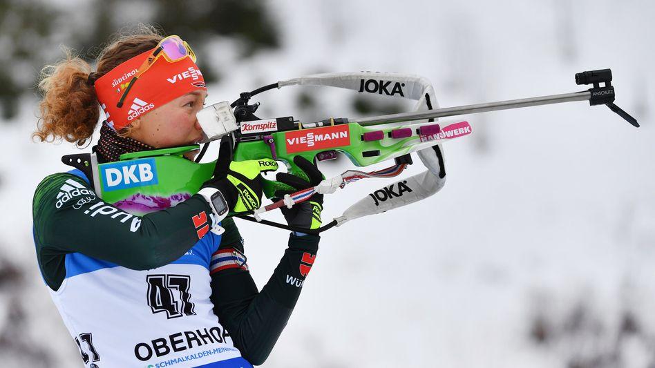 Laura Dahlmeier in Oberhof