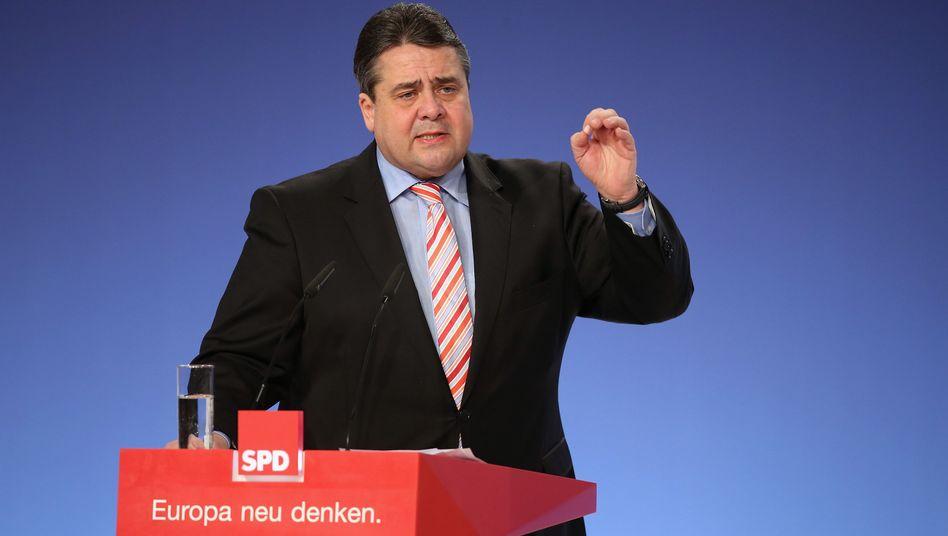 Vizekanzler Gabriel: Der Bundeswirtschaftsminister warnt vor Panikmache