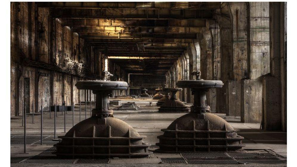 Braunkohlekraftwerk Vockerode: Verlassenes Raumschiff