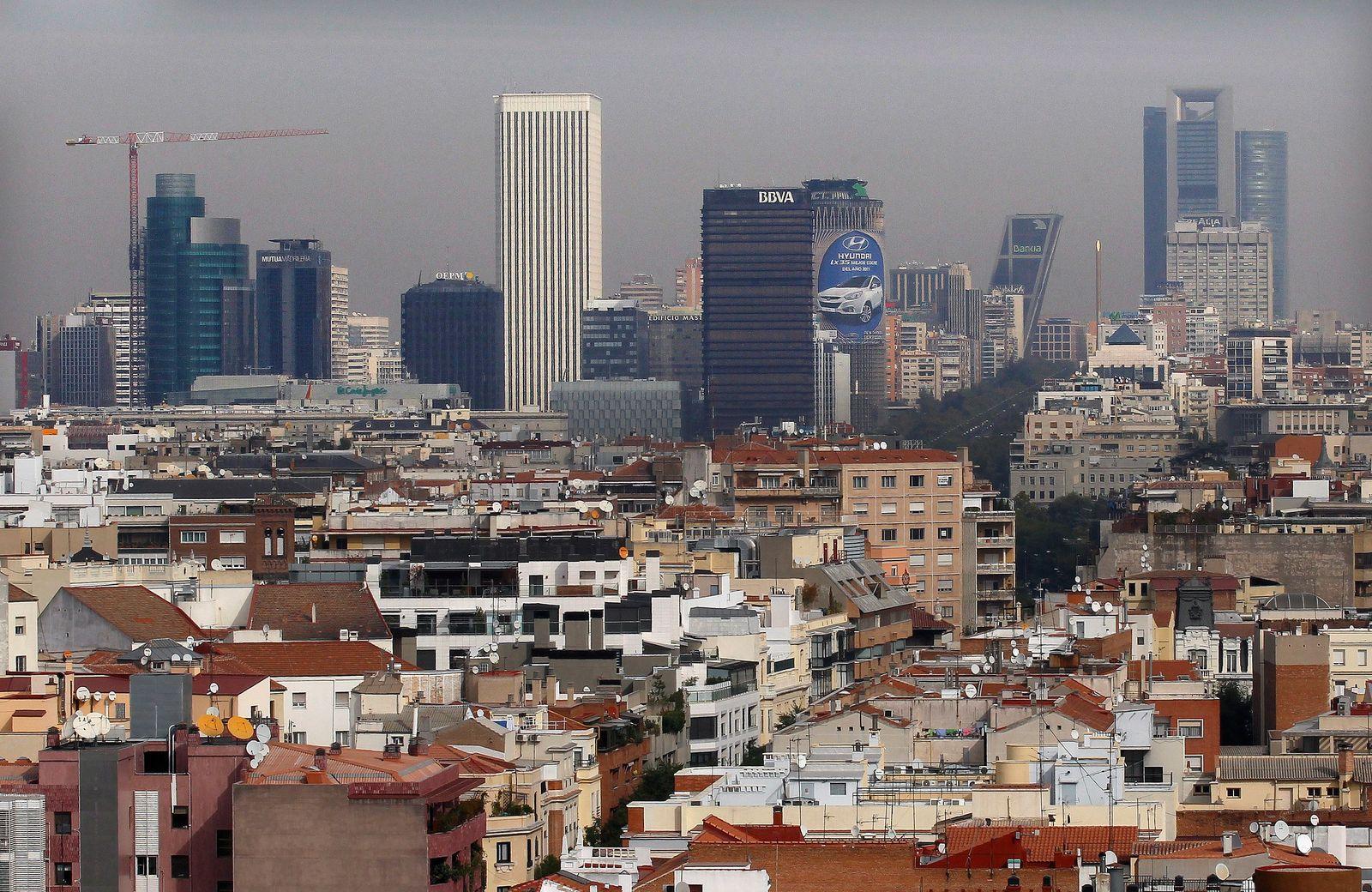 Spanien / Bankenviertel / Banken/ Madrid / Stresstest