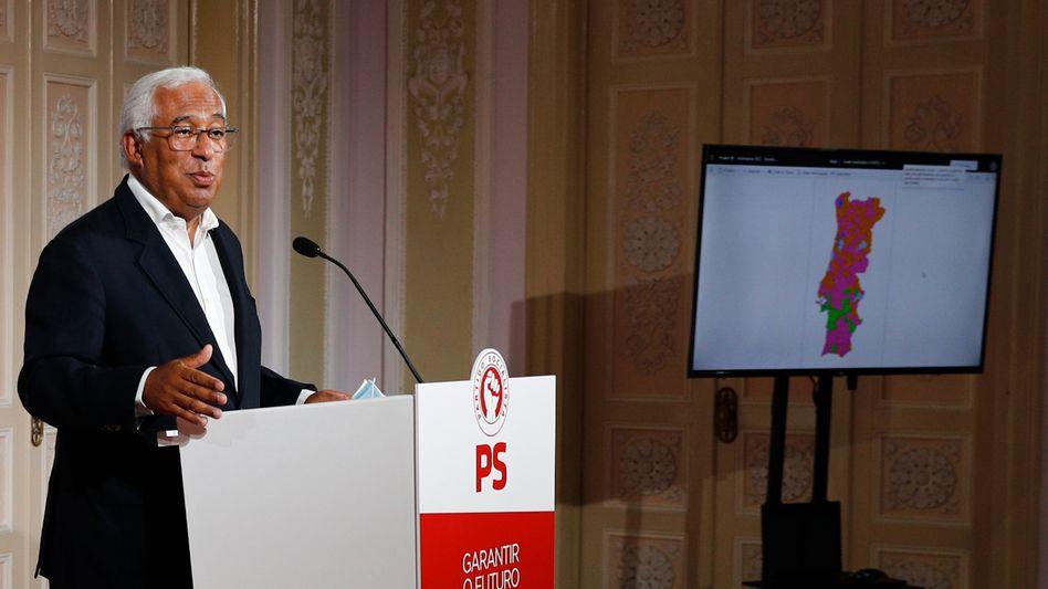 Portugals Regierungschef Costa: Unbestreitbar frustiert