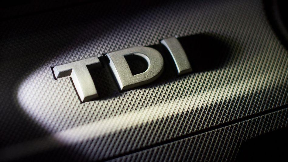 TDI-Symbol von Volkswagen
