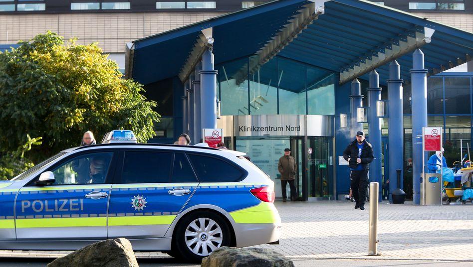 Bundeswirtschaftsminister Peter Altmaier hat das Klinikzentrum Dortmund Nord nach seinem Sturz wieder verlassen