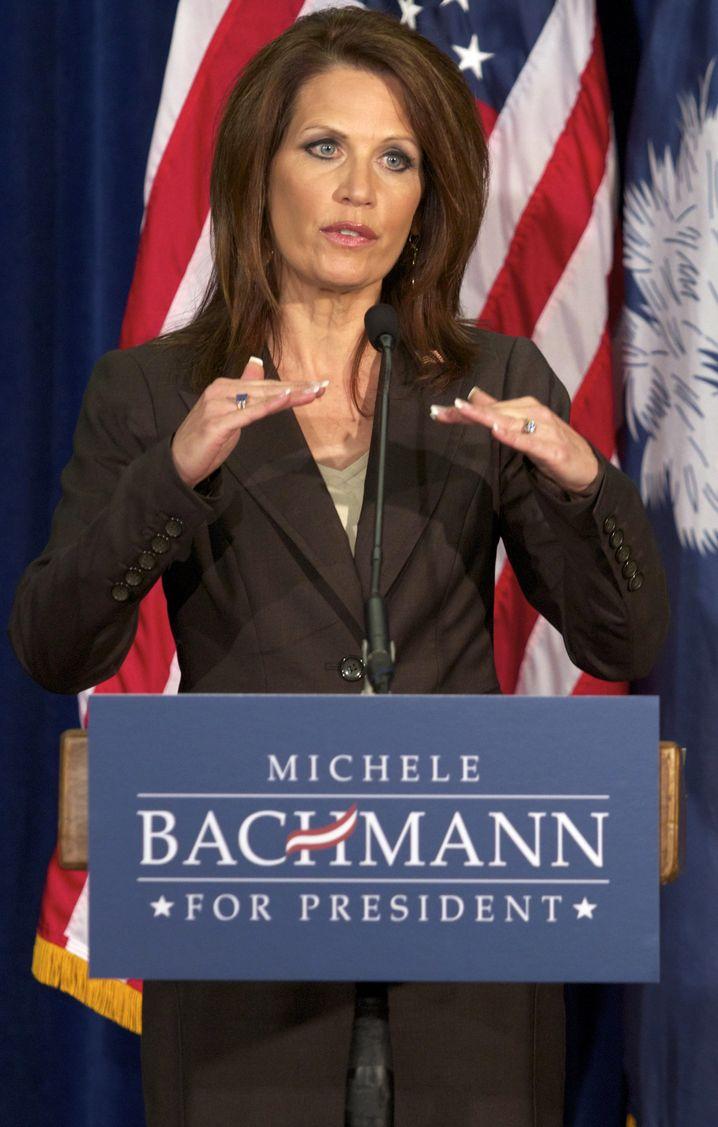 "Tea-Party-Ikone Michele Bachmann: ""Auf keinen Fall"""