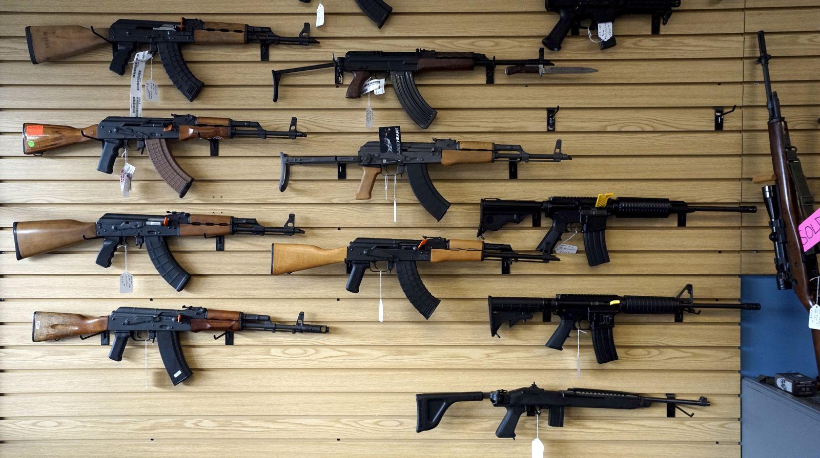 Waffen/ Geschäft/ Verkauf/ USA