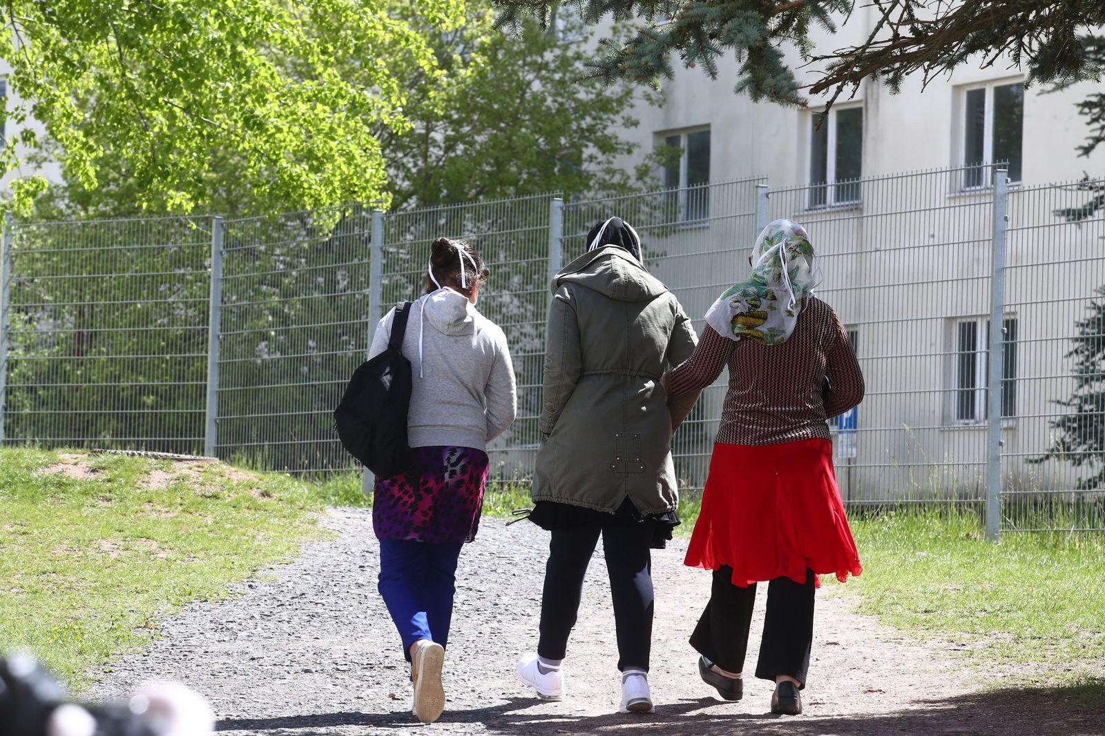 Bundeswehr hilft bei Umbau in Flüchtlingsheim Suhl
