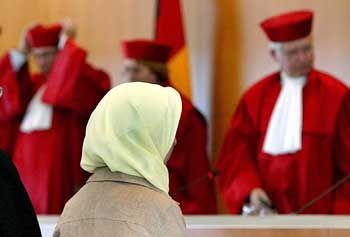 Erfolgreich: Fereshta Ludin im Gerichtssaal