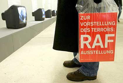 """Journalist bei der Presse-Besichtigung: """"Es ist eine Kunstausstellung und keine über die RAF"""""""