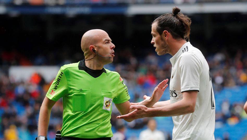 Reals Gareth Bale, Schiedsrichter Pablo González: Wird Madrid in La Liga bevorzugt?