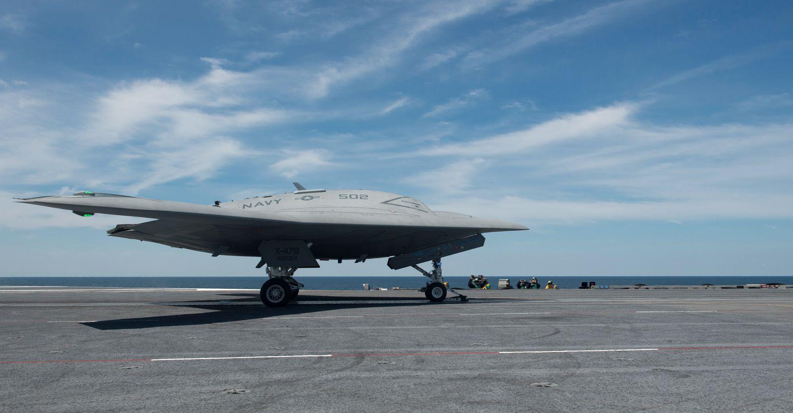 USA / Drone / UCAS