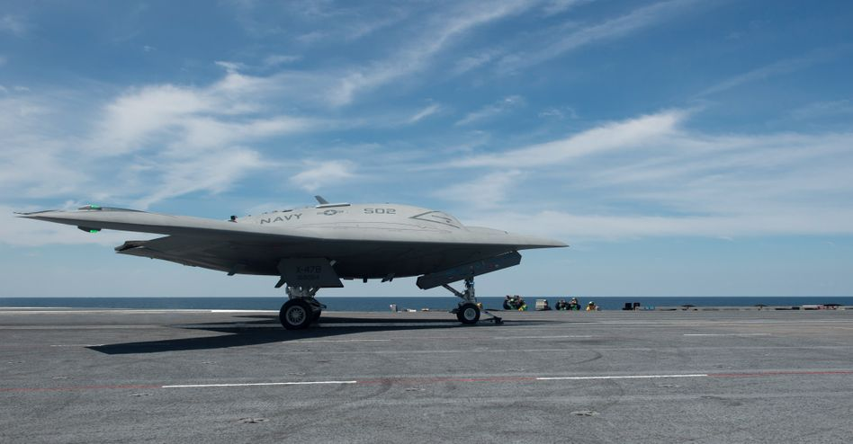 US-Kampfdrohne vom Typ X-47B