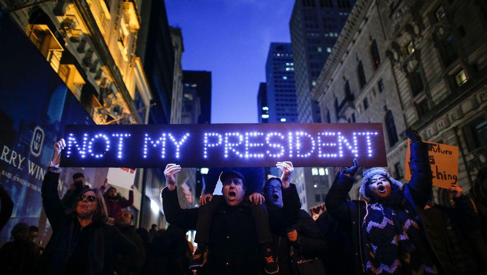 New York: Widerstand gegen Trump