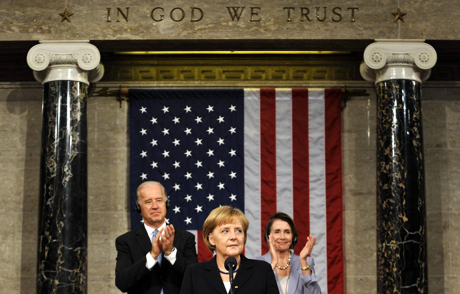NICHT VERWENDEN Merkel / US-Kongress