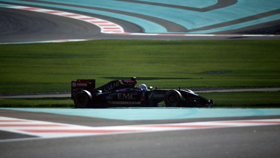 Formel-1-Pilot Grosjean: Lotus hofft auf mehr Geld
