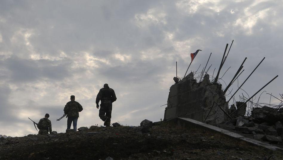 Prorussische Separatisten in der Ostukraine: Wachsende Zahl ziviler Opfer