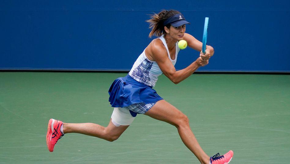 Zwetana Pironkowa bei den US Open