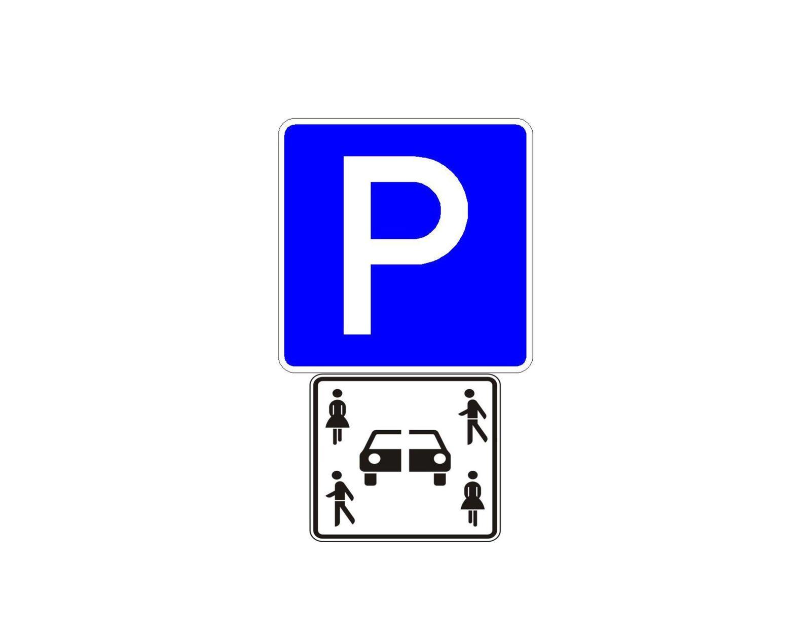Verkehrszeichen / Carsharing