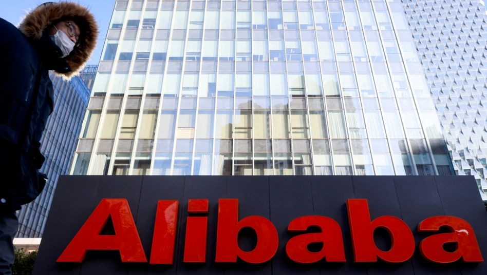 Büros von Alibaba in Peking: Ärger mit dem chinesischen Staat