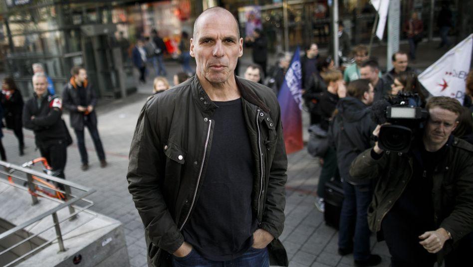 Yanis Varoufakis in Hannover: Manche reagieren mit einem fragenden Irgendwoher-kenne-ich-den-Blick