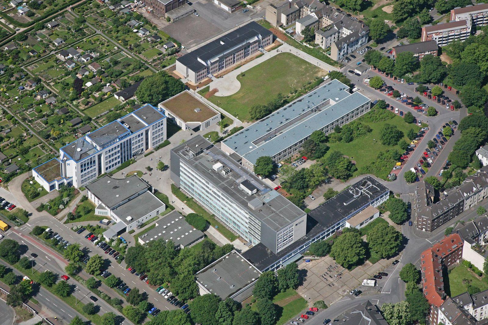 EINMALIGE VERWENDUNG Hochschule Niederrhein / Campus