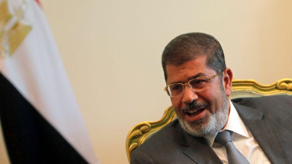 Ägyptens Präsident Mursi: Amnesie für Hunderte Zivilisten