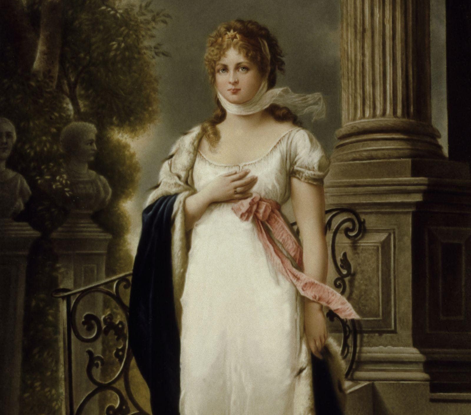 EINMALIGE VERWENDUNG Luise von Preußen
