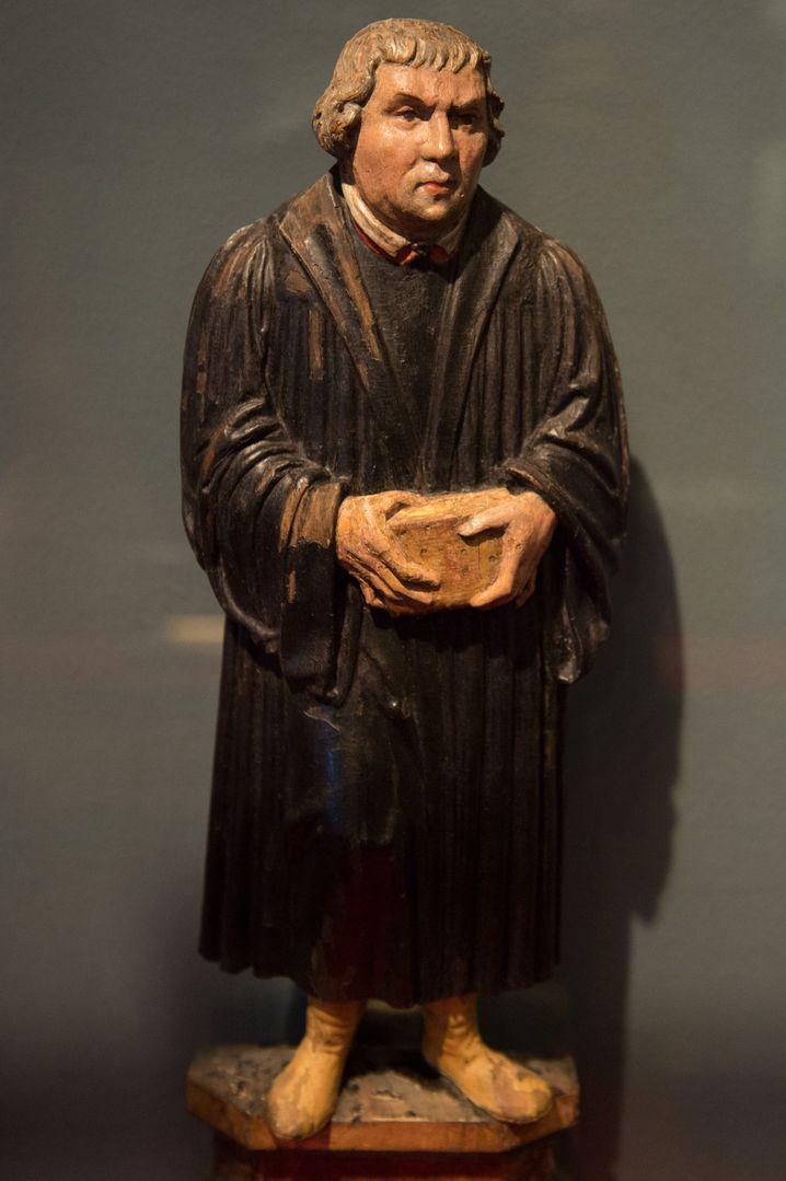 Luther-Altarfigur