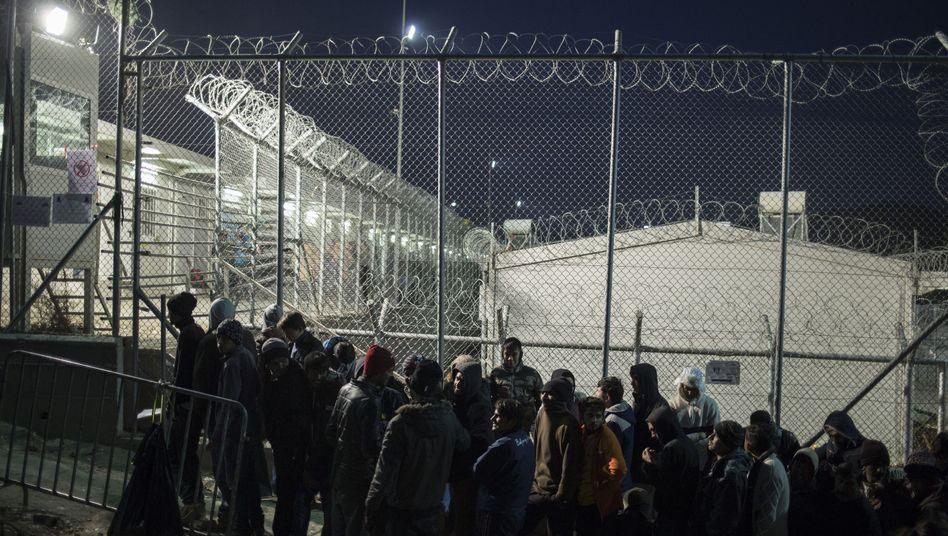 Ankunft von Flüchtlingen auf Lesbos (Archivbild): Plan für Brüssel