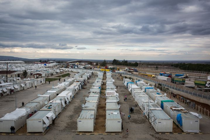 A Syrian refugee camp in Kilis, Turkey: Is Europe's reliance on the Turkish government too deep for its own good?