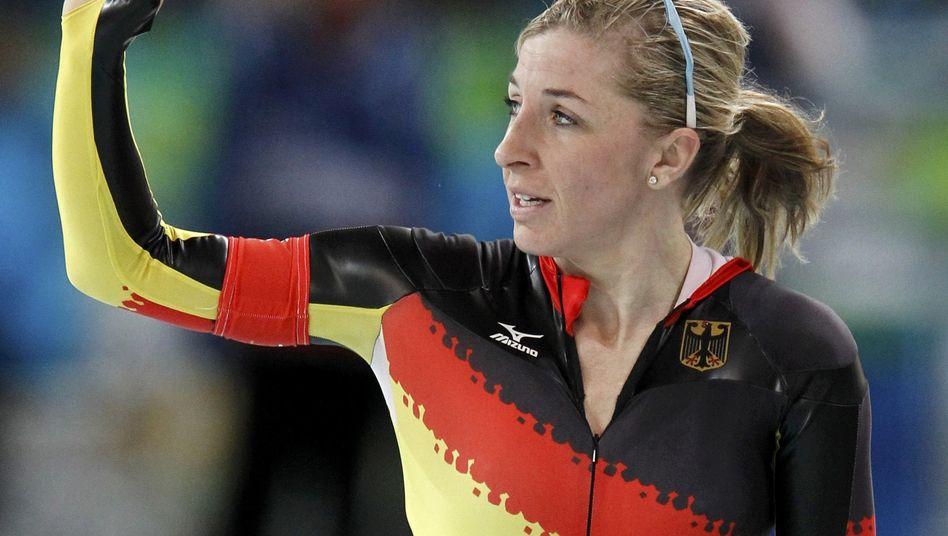 Eisschnellläuferin Friesinger-Postma: Neunte über 1500 Meter