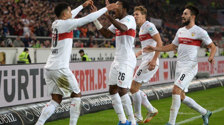 Torschütze Didavi (l.): Sieg für den VfB Stuttgart