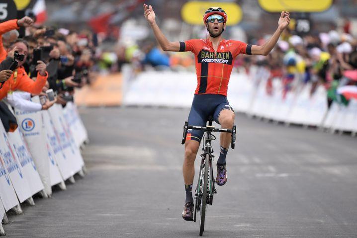 2019 gewann Nibali die 20. Etappe der Tour de France