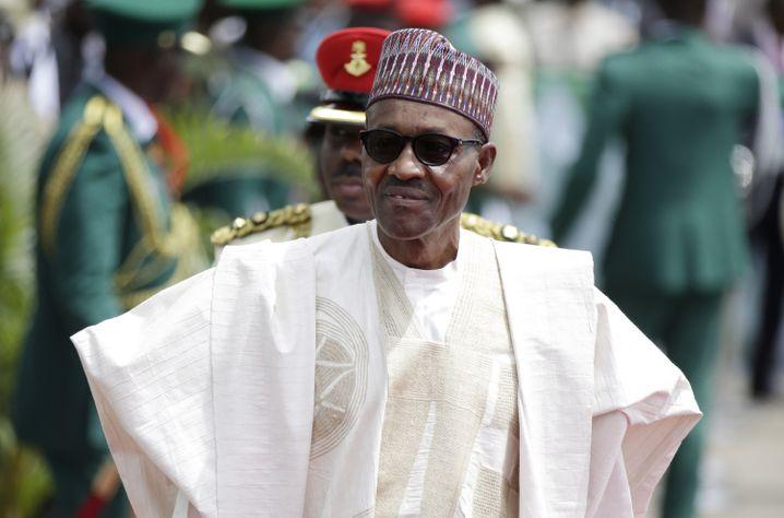 Der nigerianische Präsident Muhammadu Buhari