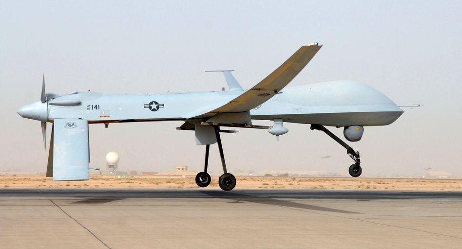 US-Drohne im Irak (Archivbild): Offenbar seit Jahren Starts aus Saudi-Arabien