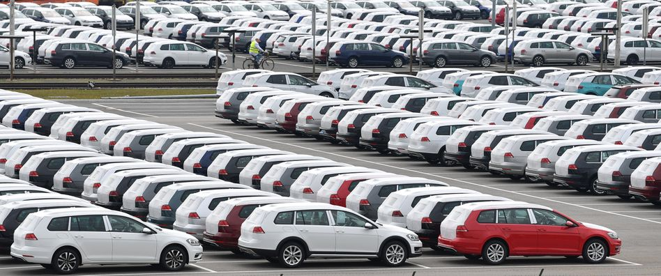 Volkswagen-Fahrzeuge in Zwickau